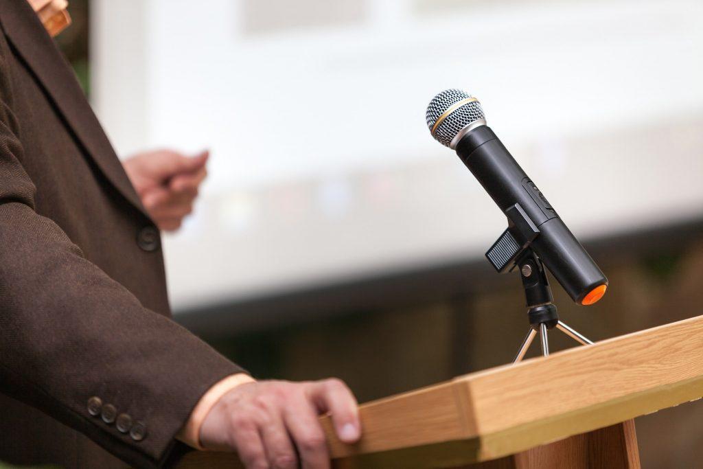 Porte Parole Microphone
