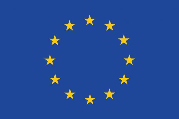 Flag Of Europe. Vector Illustration.